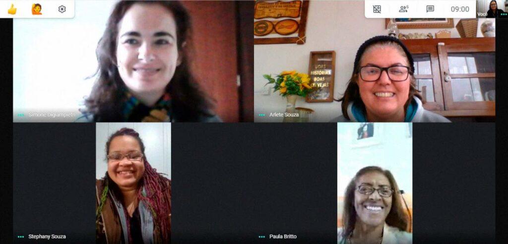 Reunião do Conselho Municipal dos Direitos da Mulher através de videoconferência