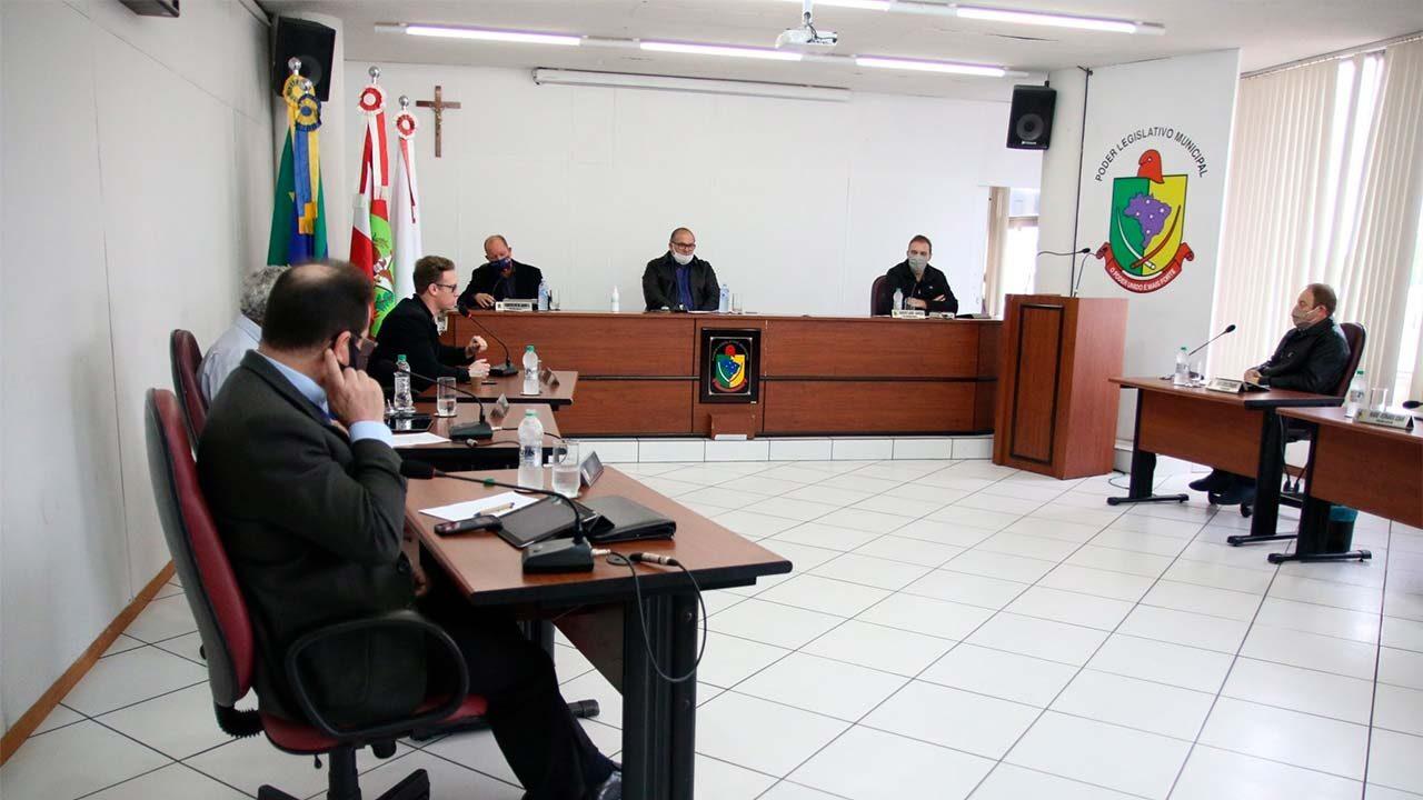 Sessão da Câmara de Vereadores de Rio do Sul