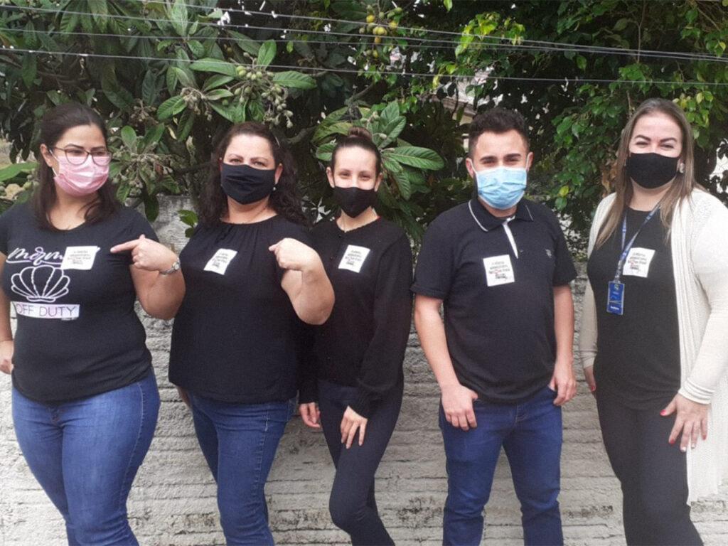 Servidores realizam manifestação no dia 18 de Agosto contra a Reforma Administrativa